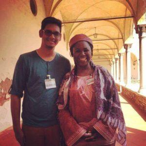 Jeremy and Hauwa Ibrahim